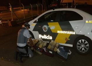 GRANDE QUANTIDADE DE DROGAS É APREENDIDA EM ÔNIBUS